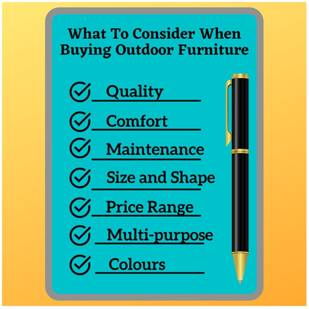 Outdoor Furniture: Your Buy Guide To Choosing The Right One