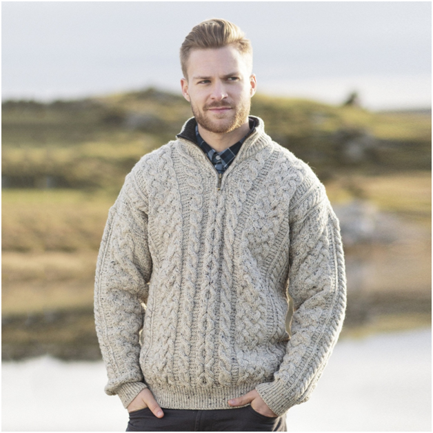 A taste of Celtic culture with Irish knit sweaters